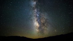 A Time-Lapse of the Night Sky