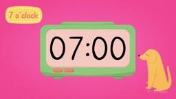Digital Clocks: Telling Time to O'Clock