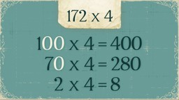 Multiplication Using Expanded Form