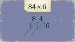 Multiplication Using the Lattice Method