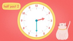 Analogue Clocks: Telling Time to Half Past