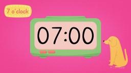 O'Clock on Digital Clocks