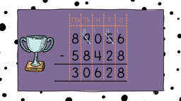 Take It Away: 5-Digit Subtraction