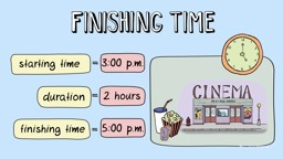 Calculating the Finishing Time