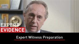 Episode 05: Expert Witness Preparation