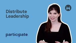 Distribute Leadership