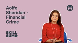 Aoife Sheridan: Team Leader in Financial Crime