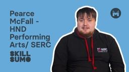 SERC: Pearce McFall in HND Performing Arts
