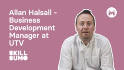 Allan Halsall: UTV Business Development Manager