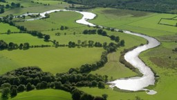 River Landforms of the Middle Course