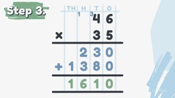 Two-Digit Multiplication: Extended Form