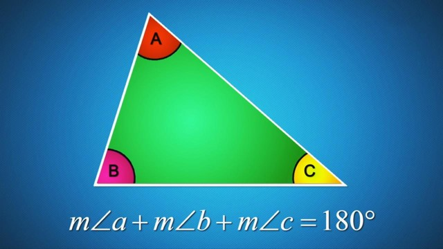 Angle Sum Property of a Triangle
