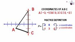 Mathematics for Computing: Matrix Transformation