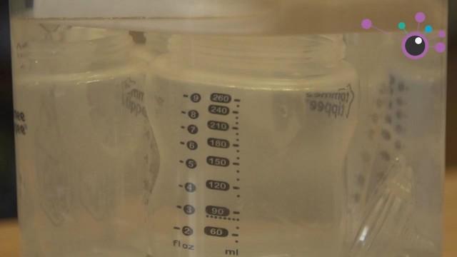 Sterilising a Baby's Bottle