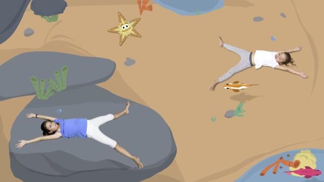 Yoga with Sea Animals