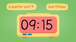 Quarter Past and Quarter To on Digital Clocks