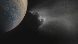 A Comet Collides with Jupiter