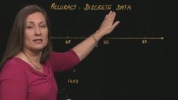 Accuracy: Discrete Data
