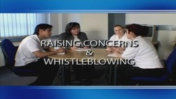 Raising Concerns and Whistleblowing