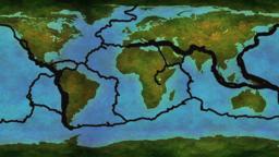 Earthquake and Active Volcano Distribution